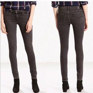 Levi's | 711 Black Dove Skinny Jeans size 24